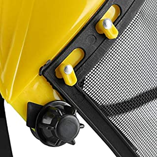 ELECTROPRIME Shield Helmet Debris Protection Safety Cover Full-face Pruning Accessories