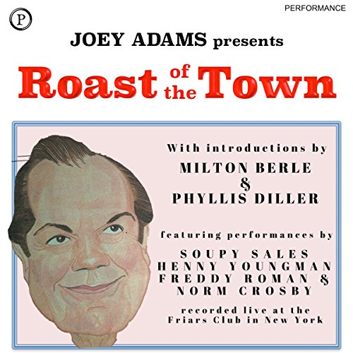 Roast of the Town audiobook cover art