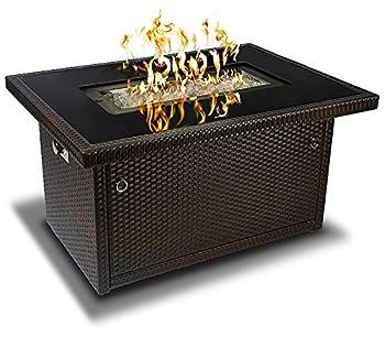 Outland Living Series 403-Espresso Brown Fire Table Espresso Brown/50,000 BTU