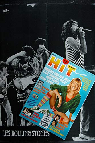 Hit Magazine 65 SYLVIE VARTAN MICK JAGGER JOHNNY MIKE BRANT The Beatles Eddie Cochran Elvis Presley 1977 05