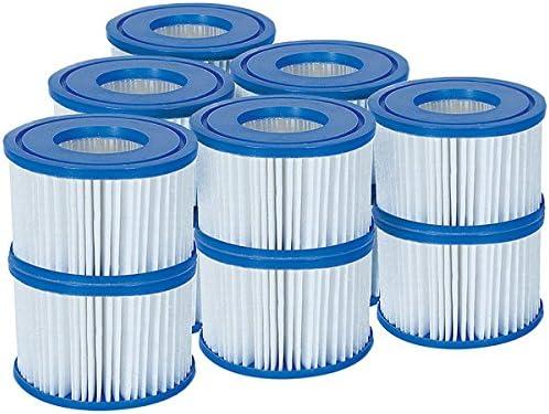 Bestway 58323 Lay-Z-Spa Cartouche filtrante Taille VI Standard : lot de 6 x 2. Standard: 6 x Twin Pack (12 Filters) b...