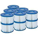 Bestway 58323 Lay-Z-Spa Cartouche filtrante Taille VI Standard : Lot de 6 x 2. Standard: 6 x Twin Pack (12 Filters) Blanc et Bleu