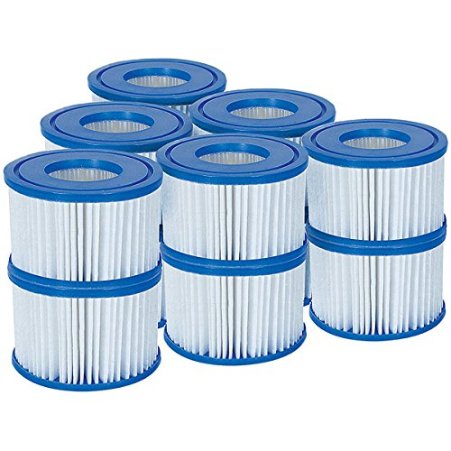 Bestway Filter Cartridge VI für Miami, Vegas, Monaco Lay-Z-Spa 58323- 6er Twin Pack