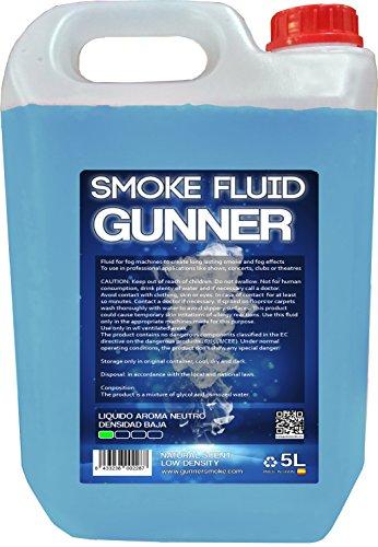 Liquido para maquinas de humo o niebla densidad Baja aroma Neutro