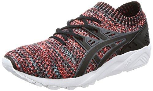 ASICS Hombres Carbon/Negro Gel Kayano Knit Lo Zapatillas