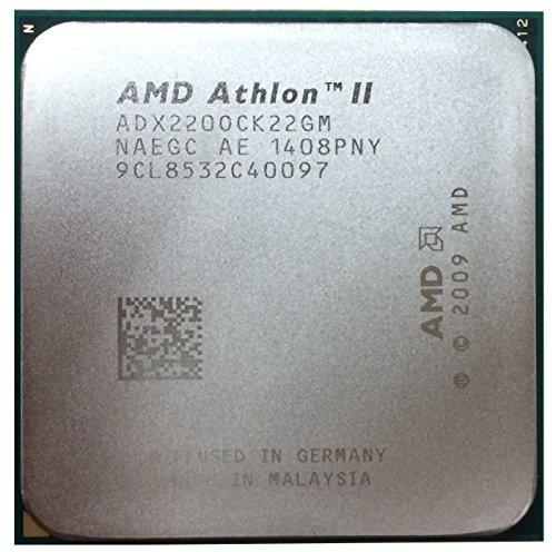 AMD Athlon II X2Dual-Core 220–Prozessor (AMD Athlon II X2, Buchse AM2, 64-Bit, L2, C3, 0.90–1.40V)