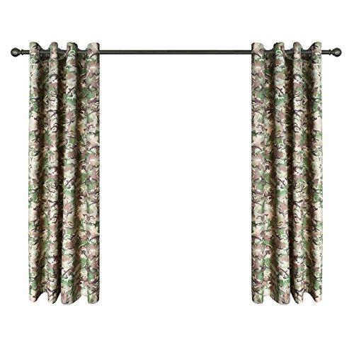 Kombat UK Kinderen Leger BTP Camouflage Gordijnen, Polyester, Brits Terrein Patroon, 39 x 26 x 6 cm