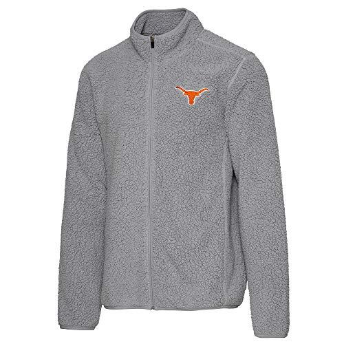 289c Apparel Men's University of Texas Authentic Apparel Eagle Full-Zip Jacket, Gray, 2XL
