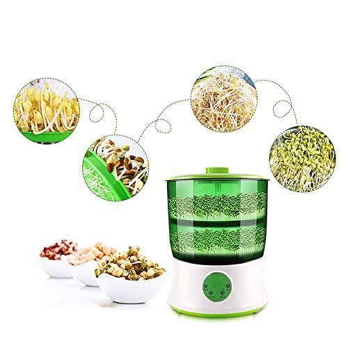 QMKJ Bohnensprossen Maker Upgrade-große Kapazitäts-Thermostat Bean Sprout Maschine Haushalt intelligente automatische Sprout-Maschine