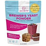 Brewers Yeast Powder for Lactation - Mommy Knows Best Brewer's Yeast for Breastfeeding Mothers - Mild Nutty Flavored Unsweetened and Debittered - 1 lb