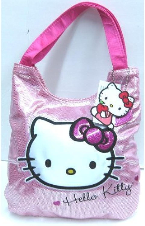 24c44453d120 Hand Bag Hello Kitty Metallic Tote Pink nrlvdd4177-new toys