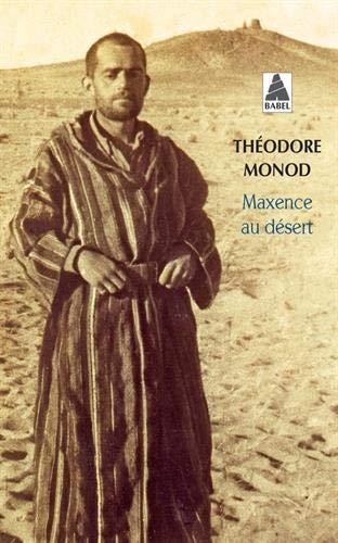 Maxence au désert