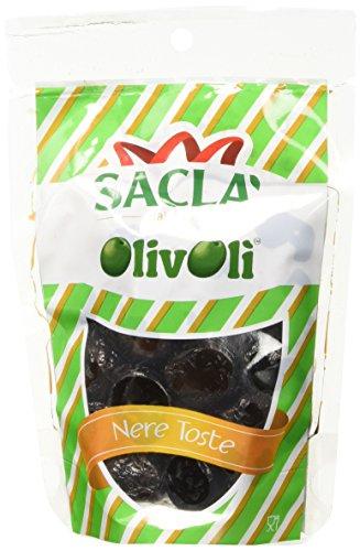 Saclà Olive Nere Toste Pak - 24 Pezzi