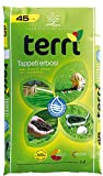 Terriccio Terra substrato specifico per Il Tappeto erboso, campi Sportivi, Prati Ornamentali | Terriccio per Prato 45 LT