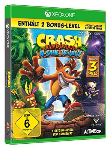 Crash Bandicoot - N.Sane Trilogy (inkl. 2 Bonuslevel)