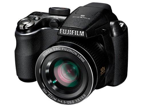 Fujifilm FinePix S4000 - Cámara compacta de 14 MP (Pantalla de 3.0