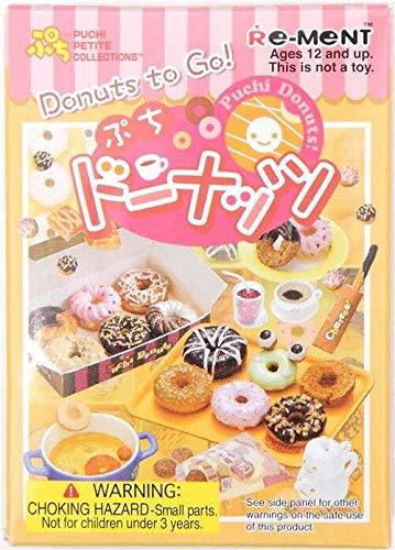 Re-Ment Caja Sorpresa miniaturas Donut Donuts to Go!
