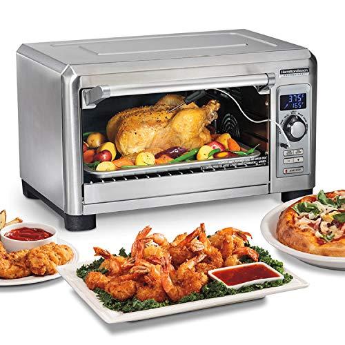 Hamilton Beach Professional Sure-Crisp Digital Air Fryer Countertop Toaster Oven
