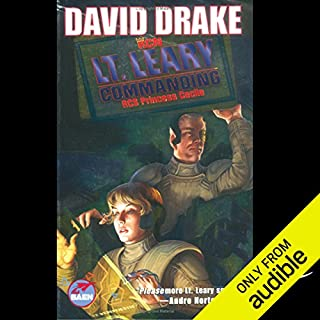 Lt. Leary, Commanding      RCN Series, Book 2              By:                                                                                                                                 David Drake                               Narrated by:                                                                                                                                 Victor Bevine                      Length: 16 hrs and 24 mins     387 ratings     Overall 4.3