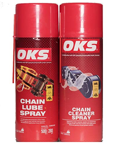 OKS German Chain Lube and Chain Cleaner 500ml