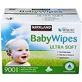 Kirkland Signature Baby Wipes 900Ct. Hypoallergenic, Chorine Free, Aloe & Vitamin-E