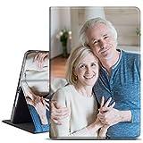 SHUMEI Coque de Protection en Cuir Avec Photo Personnalisée Pour iPad Pro 12,9' 2020, Doublure en...