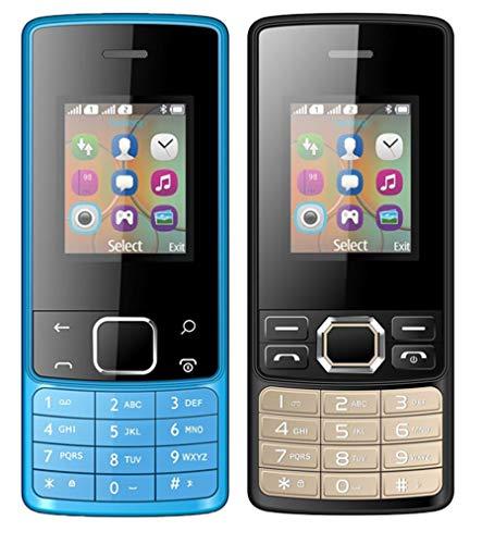 I KALL 18 inch 457 cm Dual Sim Feature Phone Combo K20 Blu