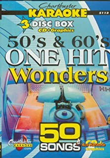Chartbuster Karaoke CDG CB5112 - 50's & 60's One Hit Wonders