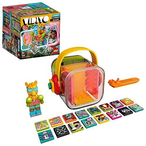 LEGO 43105 VIDIYO Party Llama Beatbox, Creador de Vídeos Musicales, Juguete Realidad Aumentada, App Set con Mini Figura