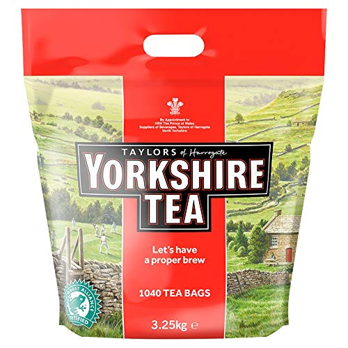 Yorkshire Tea Taylors Of Harrogate 1040 Teebeutel 3,25Kg