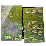 Cubre encimeras para Cocina Claude Monet - Green Water Lilies, 60x52 cm