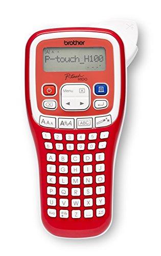 Brother PT-H100R Etichettatrice Palmare, fino a 12 mm, Velocità di Stampa Fino a 20 mm/sec
