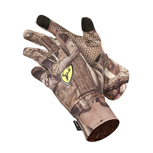 SCENTBLOCKER Trinity Glove with Text Touch, Camo,...