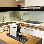 Bakaji-Cassetto-Estraibile-Porta-Capsule-Caffe-Nespresso-40-Posti-In-Metallo-Contenitore-con-Superfice-Porta-Macchinetta-Colore-Nero-Design-Moderno-Dimensione-375-x-175-x-55-cm