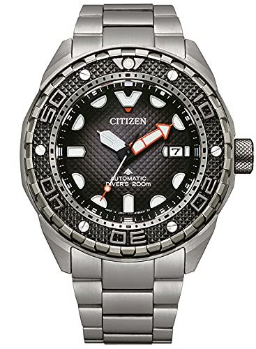 Citizen Reloj de buceo automático para hombre Titan NB6004-83E