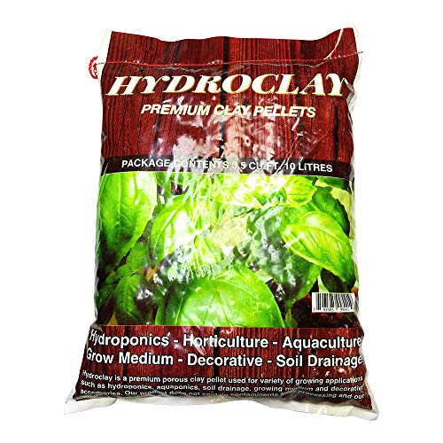 Onetour Hydroclay Premium Hydroponics Clay Pellets Substrate 10 litres