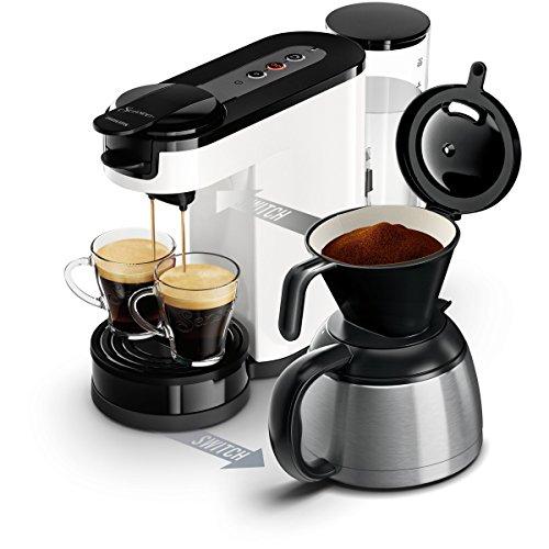 Philips HD7892/01 SENSEO SWITCH Machine à café 2 en 1...