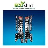 Ecoshirt 6V-8SN0-2JIE Stickers Fork Rock Shox Xc32 2019 Am217 Autocollants Fourche