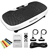 TECHMOO 3D Vibration Platform Exercise Machine Whole Body Workout Vibration Fitness Platform Home...