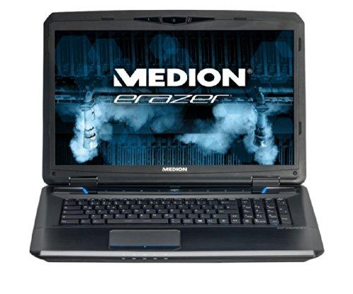Medion Erazer X7825 43,9 cm (17,3 Zoll) Laptop (Intel Core i7 4700MQ, 2,4GHz, 3GB RAM, 1TB HDD, NVIDIA GF GT X770M, Win 8) schwarz