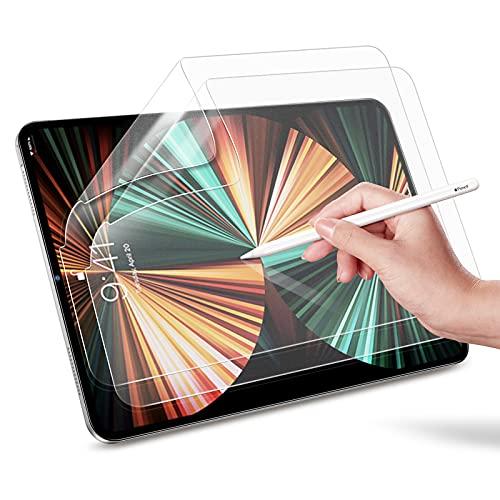 ESR Protetor de tela com sensação de papel para iPad Air 4 2020 / iPad Pro 11 2020 e 2018, [Compatível com lápis Apple] [Escreva e desenhe como no papel] Filme PET anti-reflexo fosco para iPad Pro 11 / 10,9 polegadas 2020 (2 pacotes)