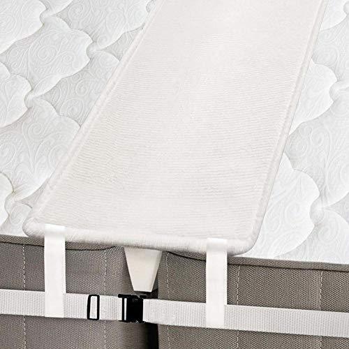 Puente de la cama Colchón Conector, Puente para almohadilla de relleno de espuma de memoria, Dos conectores de colchones individuales, Sistema de cama doble para familia u hotel