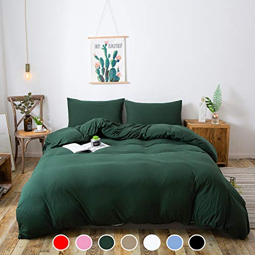 Household 100% Cotton Jersey Knit Duvet Cover...