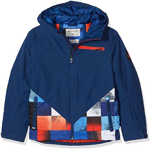Quiksilver Herren Youth JK Suit Up - Snow Jacket for Boys 8-16, Mandarin red, 16/XXL