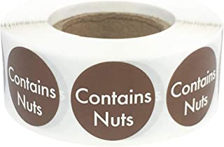 Best nut allergy stickers Reviews