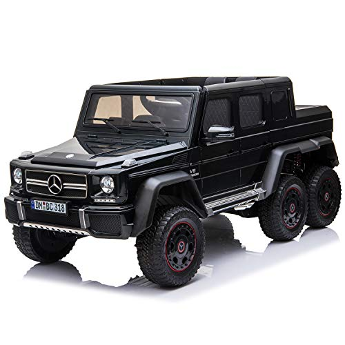 Buy Discount Licensed Mercedes Benz AMG G63 6x6 Kids Ride On Car with 2.4G Remote Control, 12V 4 Mot...