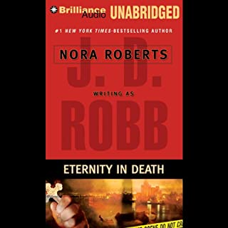 Eternity in Death audiobook cover art