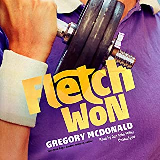 Fletch Won audiobook cover art