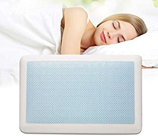 Memory Foam Bed Pillows for Sleeping - Ventilated Gel Cooling Hypoallergenic Pillow for Back & Side Sleeper | Anti snore |...