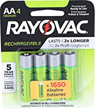 Rayovac, Batteries Recharge AA, 4 Count
